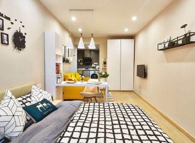 哈租客公寓(城西银泰店) 1室1厅1卫