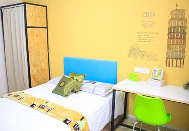逗号公寓(西安北门火车站店) 1室0厅1卫
