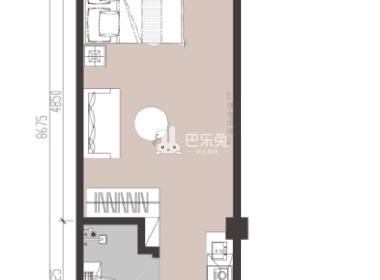 冠寓(发展二路店) 1室1厅1卫