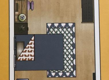 冠寓(科技西路店) 1室0厅1卫